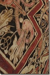 St. Chad Gospel detail