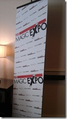 Magic Expo Sign