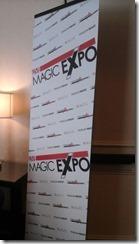 Magic Expo Sign