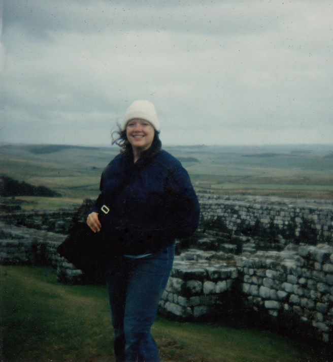 Doyle at Hadrian's Wall